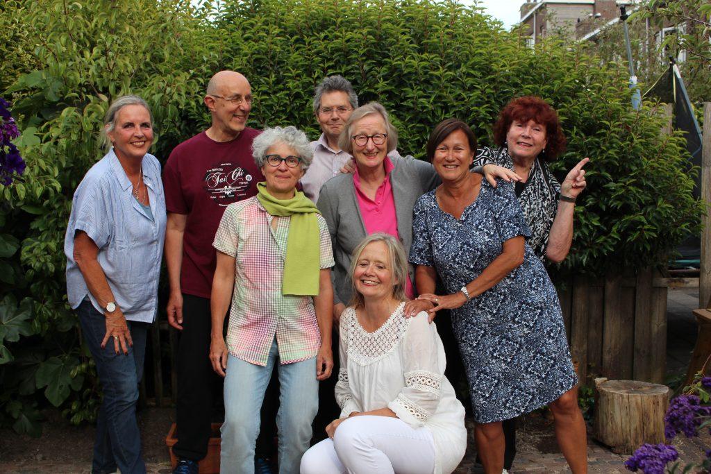 Foto van de docenten van het cursus collectief heemstede