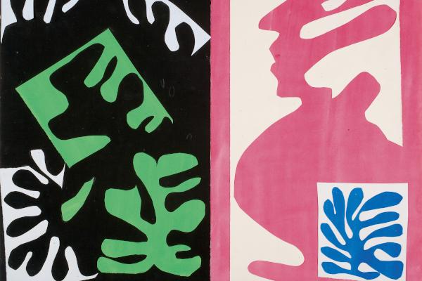 Decoupage door Henri Matisse